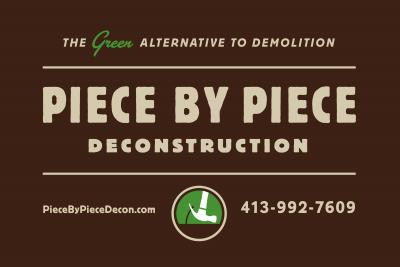 Piece by Piece Deconstruction Logo