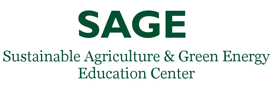 Sustainable Agriculture and Green Energy Learning Center (SAGE) Logo