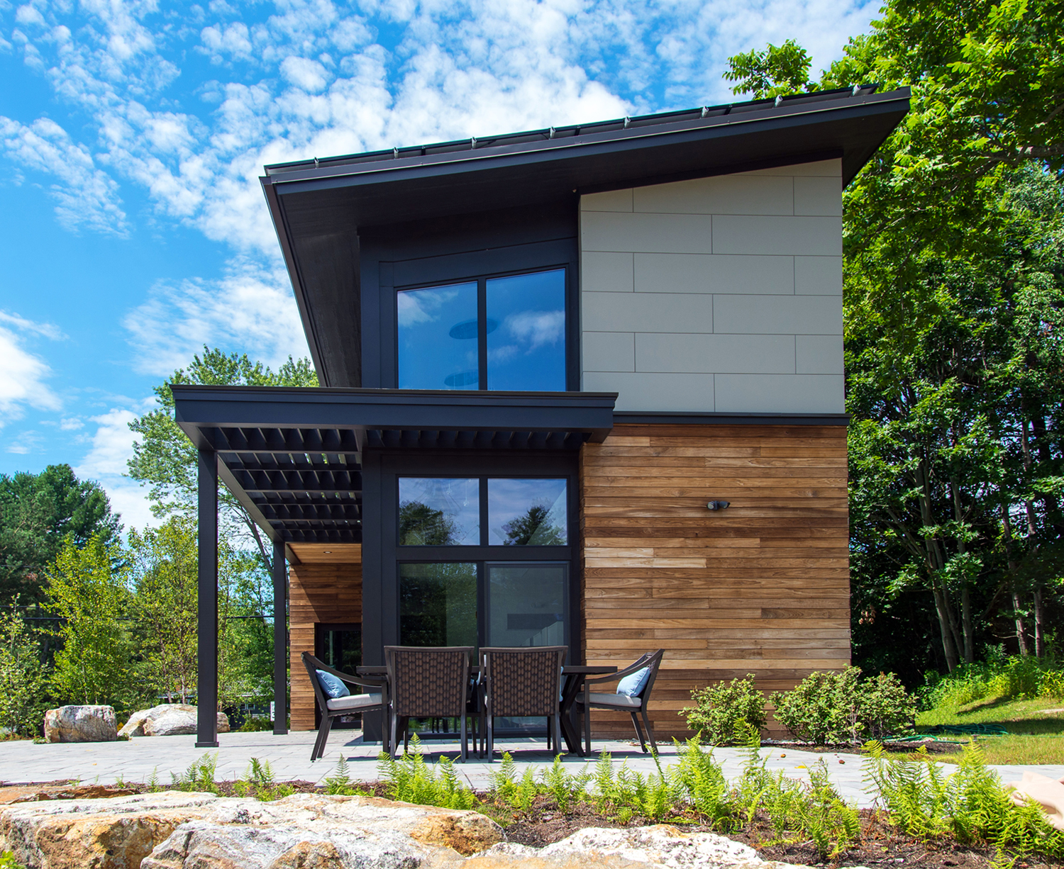Viridescent building net zero energy coalition for Building a house in maine