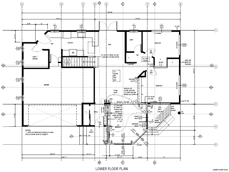 1st floor plan 115 Angelita