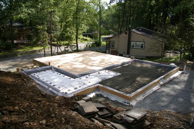 Foundation before concrete