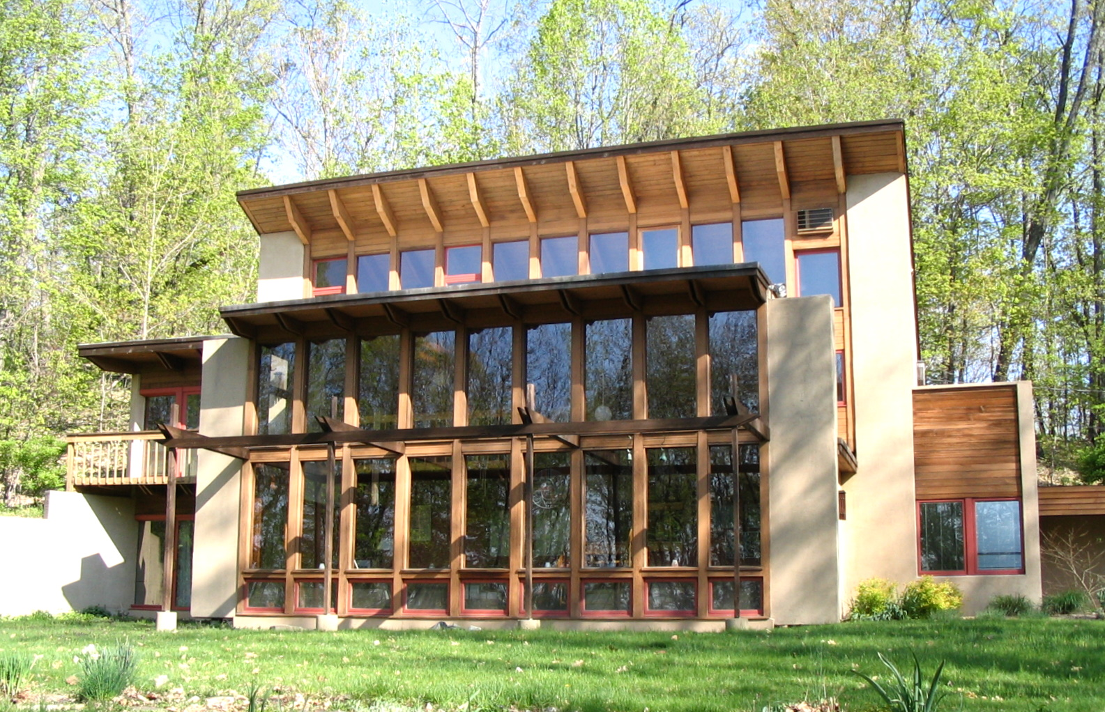 Passive solar   Sunspace  Direct gain