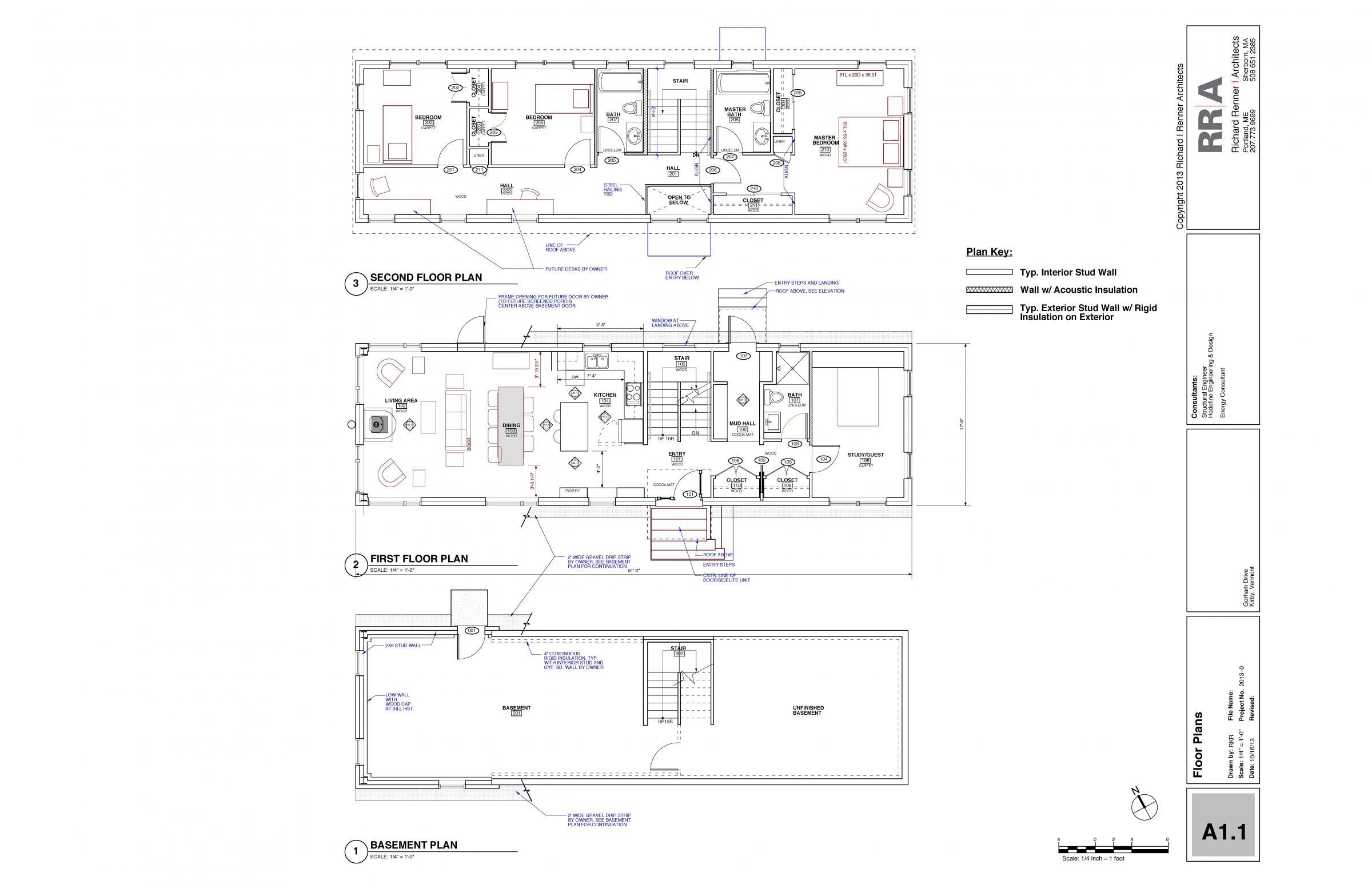 Hillside residence nesea for Hillside floor plans
