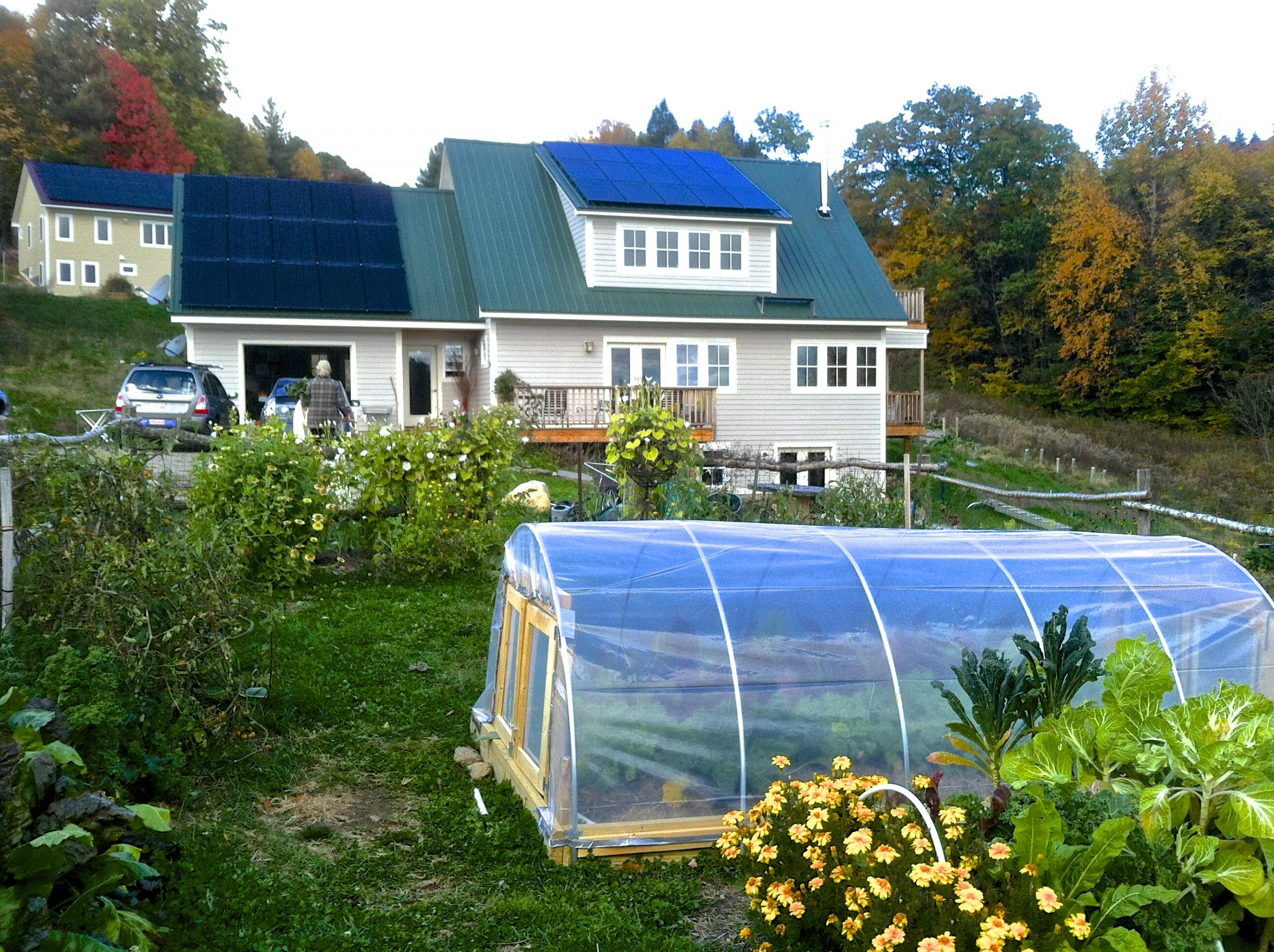 Net Zero Energy home Katywil Community Colrain MA