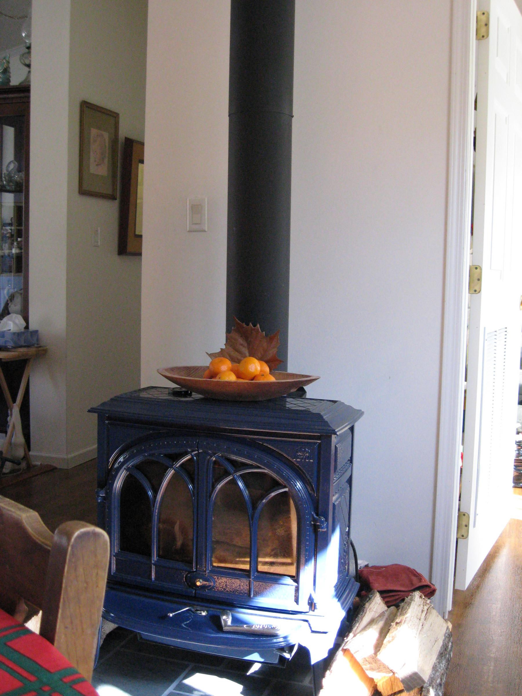 Jotul wood stove - heat for fun or emergencies