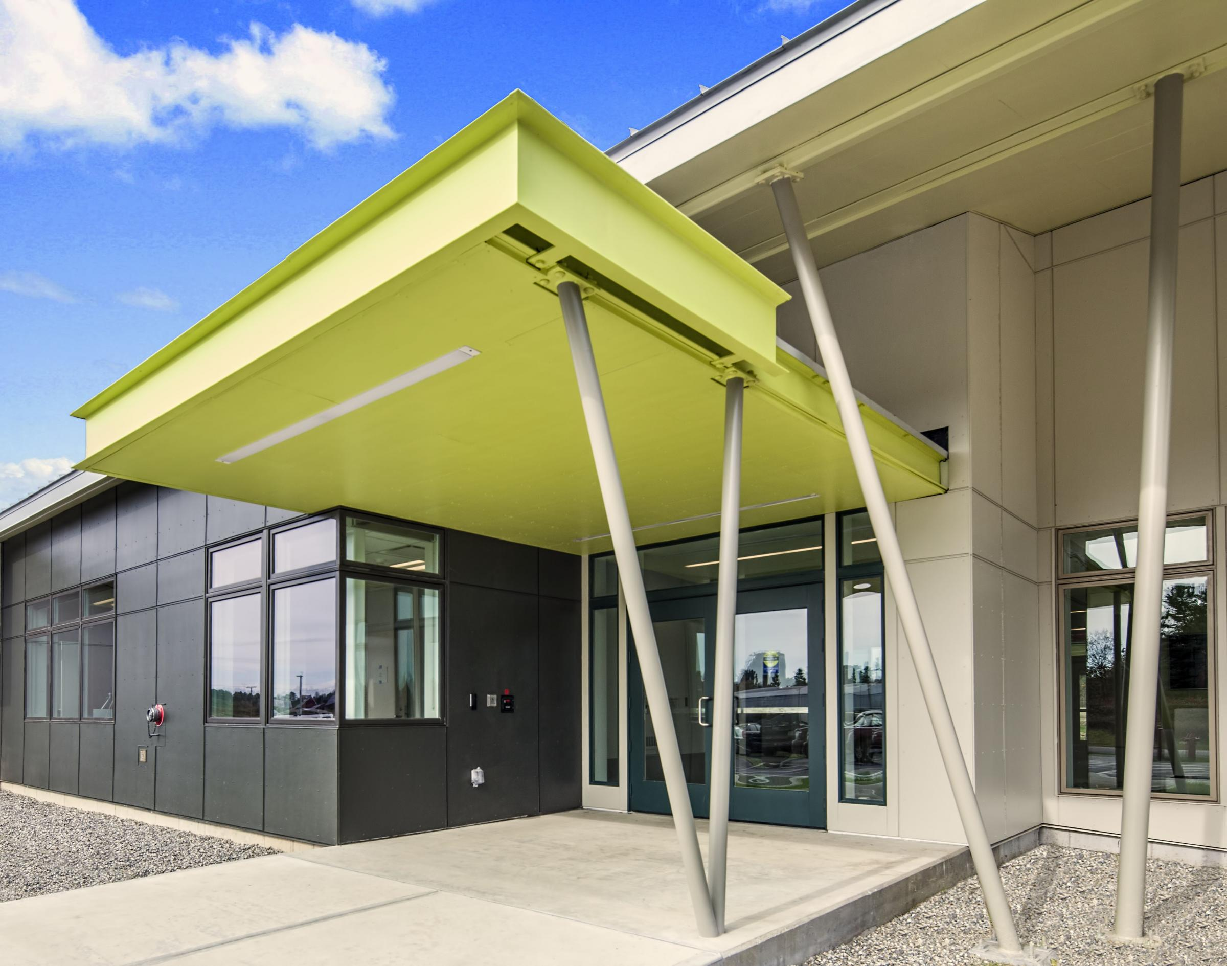 KVCC Entrance Canopy