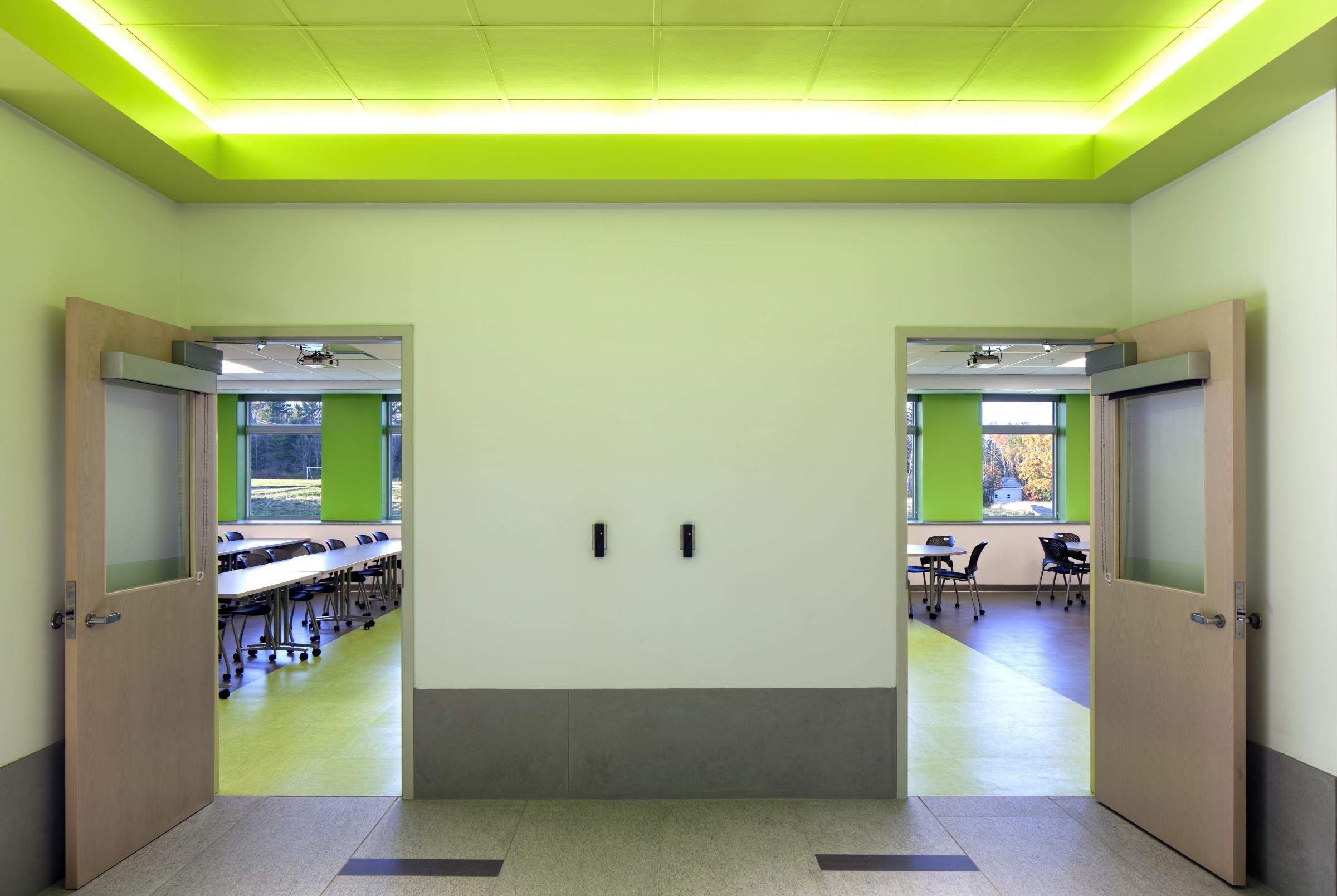 KVCC Classroom Entrance