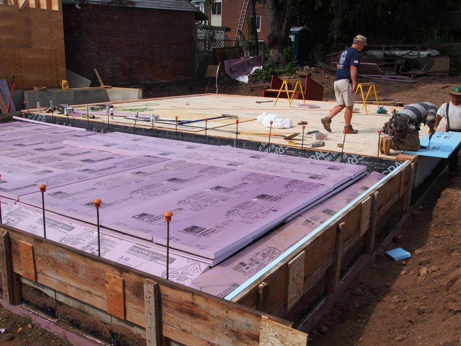 Slab insulation