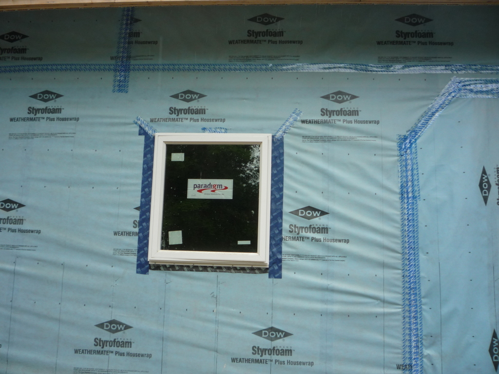 installed window
