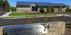 Exterior of the Massachusetts Fish and Wildlife Headquarters