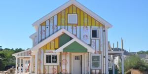 A Melpet Farm townhouse under construction