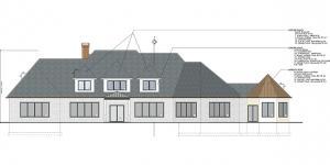 SE Elevation Wayland House