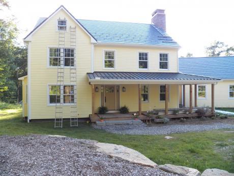 Front of Benker Residence