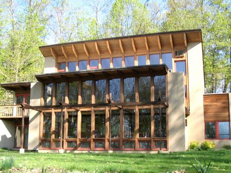 Passive solar ,  Sunspace,  Direct gain