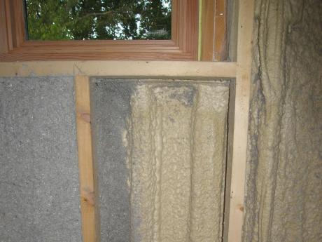 Trail Magic, double wall insulation; a positive energy home in Oberlin, OH