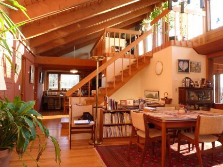 Passive Solar Home Interior