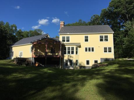 Back of Benker Residence