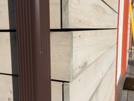 Mechanic Street Passive House rainscreen detail