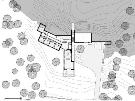 Guilford Artists' Residence - ground floor plan