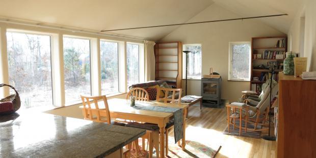 Interior shot of remodeled Oak Bluff Property