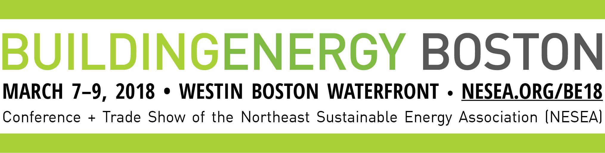 Buildingenergy Boston 2018 Nesea