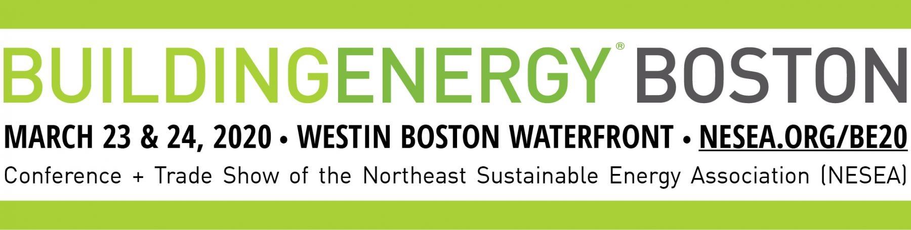 BuildingEnergy Boston   NESEA