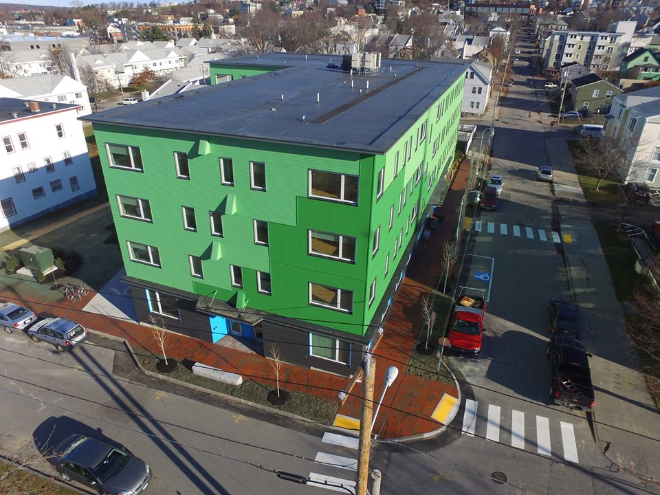 Portland S First Phius Affordable Multifamily Housing Nesea