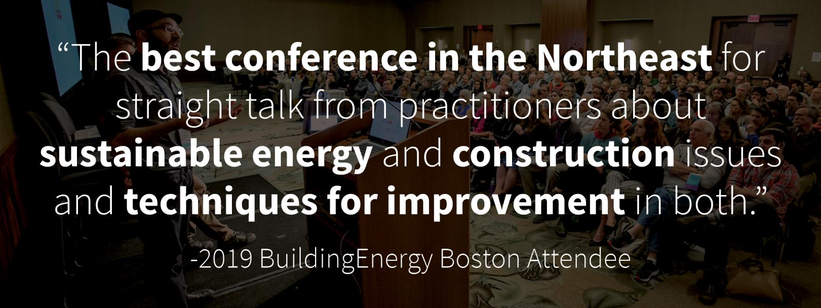BuildingEnergy Boston | NESEA