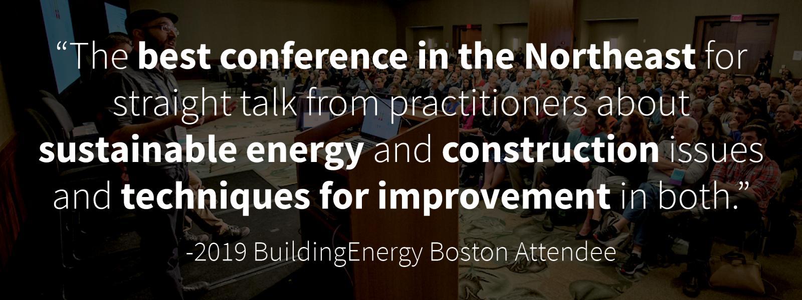 BuildingEnergy Boston | NESEA