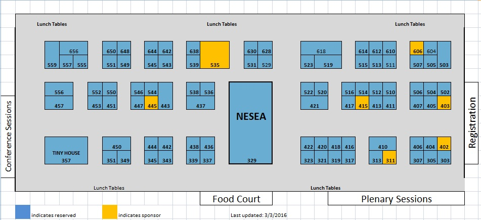 Buildingenergy 16 trade show floor nesea for Trade show floor plan